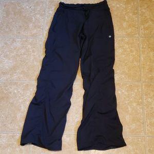 Lululemon black pants sz 6
